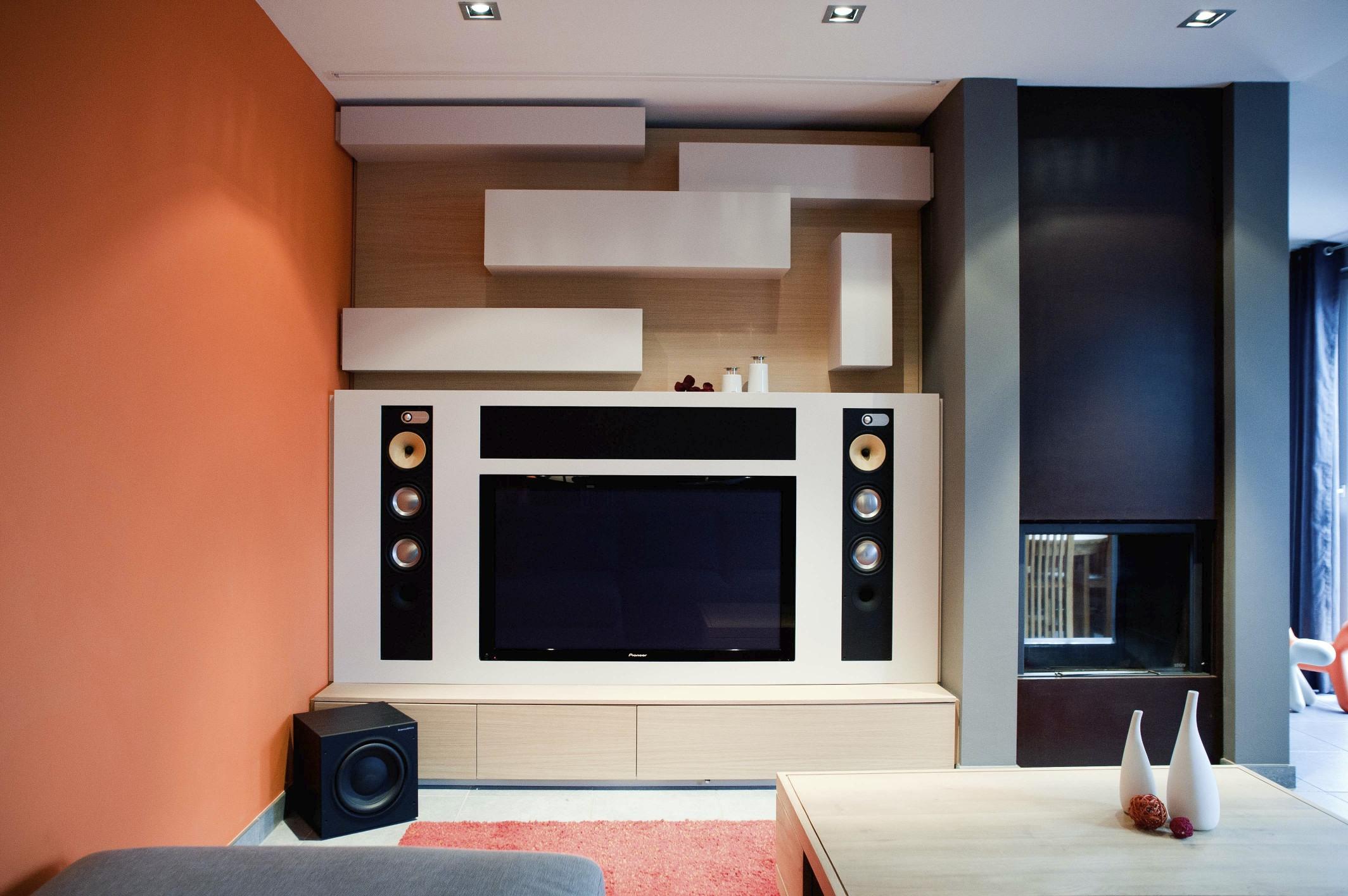Tetrix - Julie Xhauflaire - appartement à Houffalize - #interior design #modern furniture