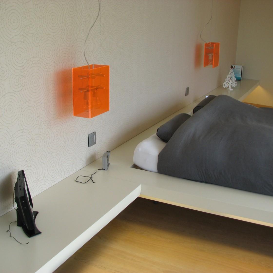 Tetrix - Julie Xhauflaire - chambre parentale à Manaihant - #interior design #modern room